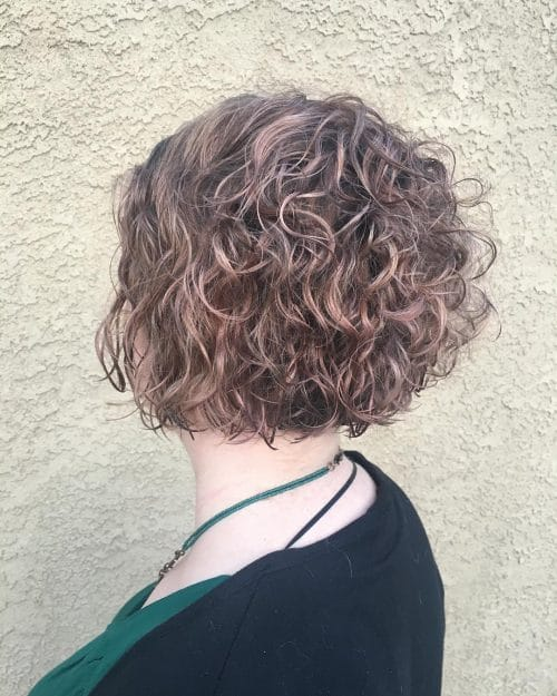 rosy_bob 14 flattering and eye-catching hairstyles for short curly hair
