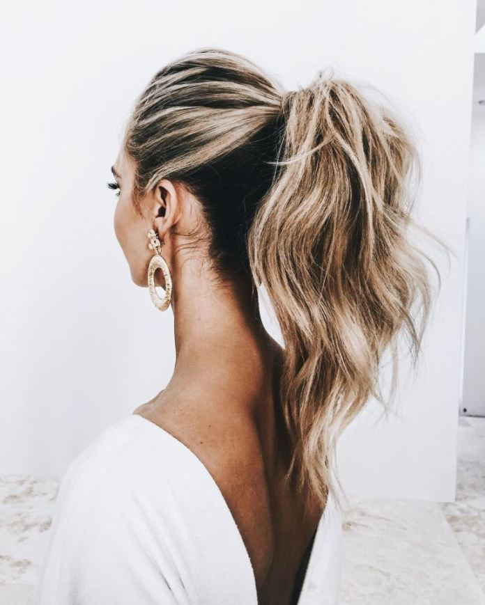 A-Chic-Ponytail 14 Best Prom Hairstyles for All Hair Lengths