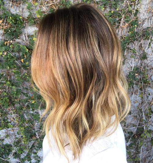 A-Golden-Angle-for-Bronde-Locks 14 Best Bronde Hair Options in 2020