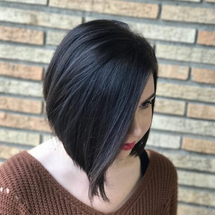 A-Line-Graduated-Bob 25 Prom Hairstyles 2020 for an Exquisite Look