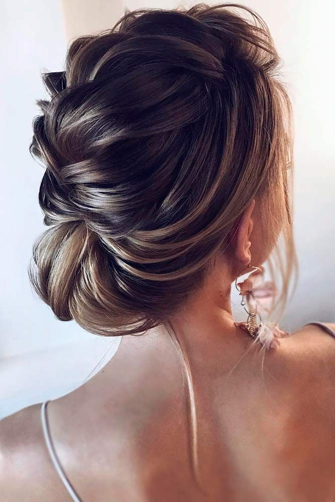 Big-French-Low-Bun 25 Prom Hairstyles 2020 for an Exquisite Look