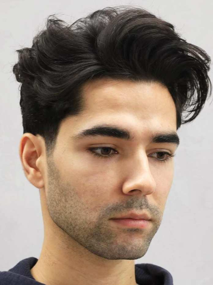 Blown-Tangled-Quiff 25 Quiff Hairstyles for Ultra Modern Look