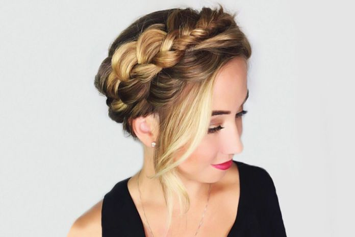 Bold-Braided-Hairstyle 21 Halo Braids to Uplift Your Overall Appearance