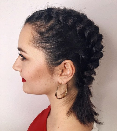 Braids-for-Short-Fine-Hair. 15 Fabulous Hairstyles for Fine Hair