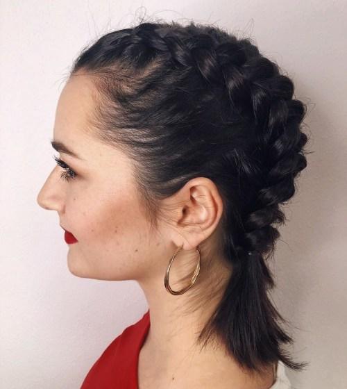 Braids-for-Short-Fine-Hair. 15 Fabulous Hairstyles for Fine Hair