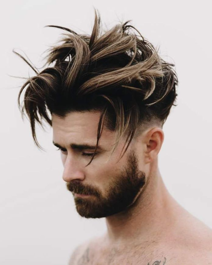 Brown-Color-Hairstyle 20 Hair Color for Men to Look Ultra Stylish