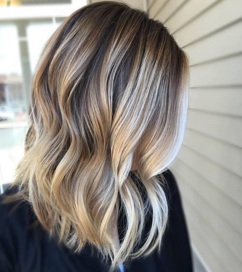 Brunette-Meets-Platinum-Blonde 14 Best Bronde Hair Options in 2020