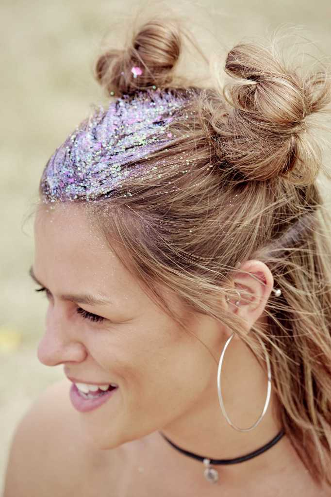 Bunny-Bun-Hairstyle 25 Festival Hairstyles to Enhance Your Appearance