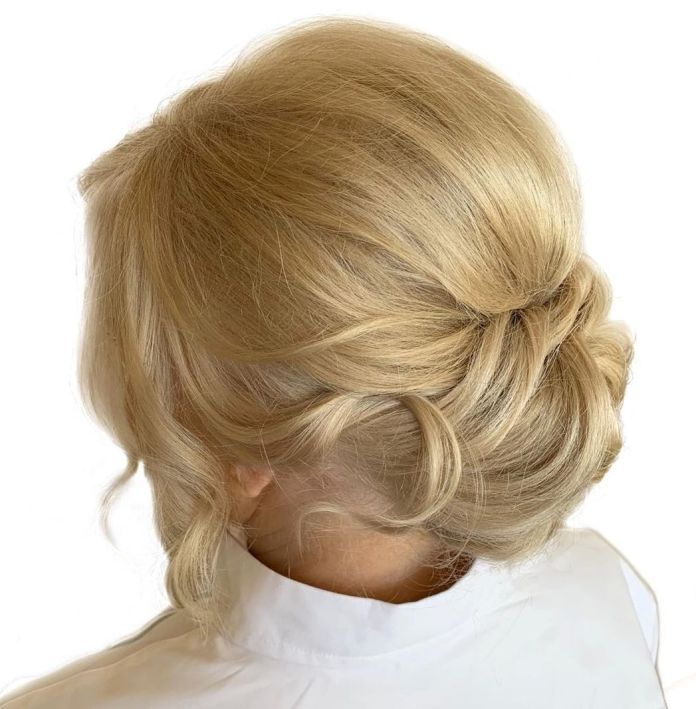 Chignon-for-Mother-of-the-Bride 15 Beautiful Hairstyles for Mother of The Bride That's Easy To Put Together