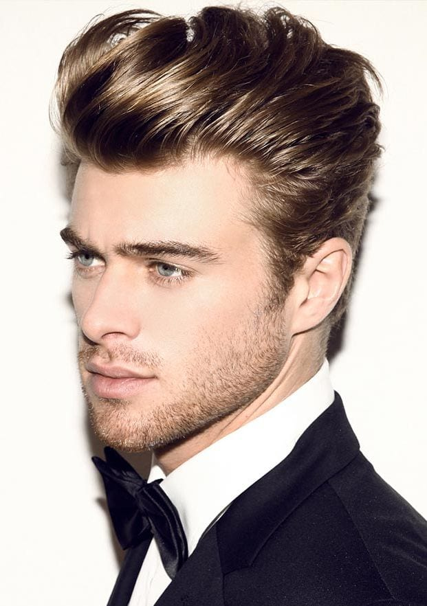 Cool-and-Classic-Pompadour-with-a-Quiff 25 Quiff Hairstyles for Ultra Modern Look