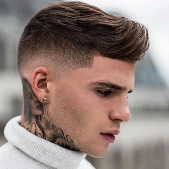 Faux-Hawk-along-with-Drop-Fade Drop Fade Haircut for an Ultimate Stylish Look