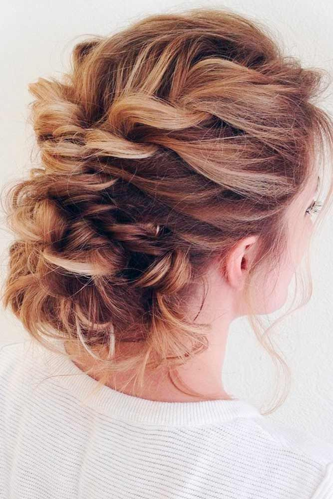 French-Messy-Twisted-Hairdo 25 Prom Hairstyles 2020 for an Exquisite Look