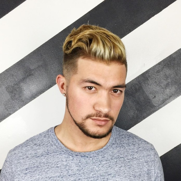 Golden-Hairstyle 20 Hair Color for Men to Look Ultra Stylish