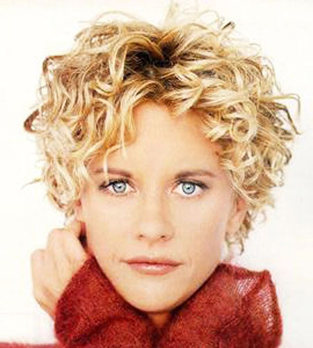 Layered-Blonde-Hair Best Short Curly Hairstyles for Women Over 50