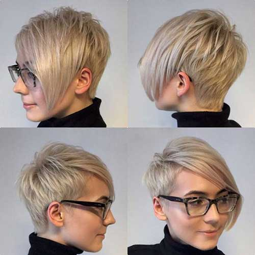 Layered-Long-Pixie-Haircut Best Short Layered Haircuts for Women