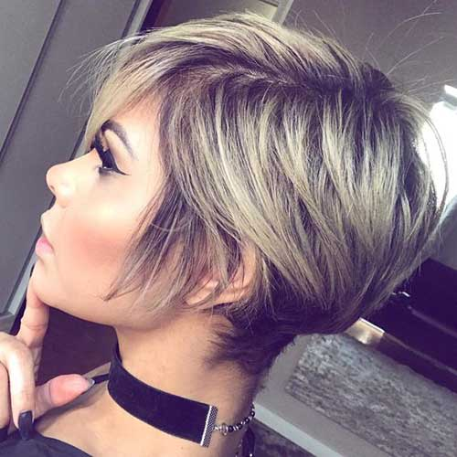 Layered-Short-Hair 20 Layered Short Haircuts for Women