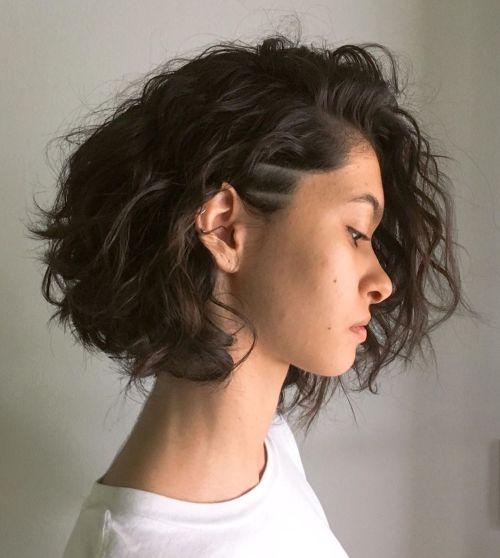 Medium-Length-Bob-with-Undercut. 15 Stylish, Modern Undercut Bob Haircut in 2020