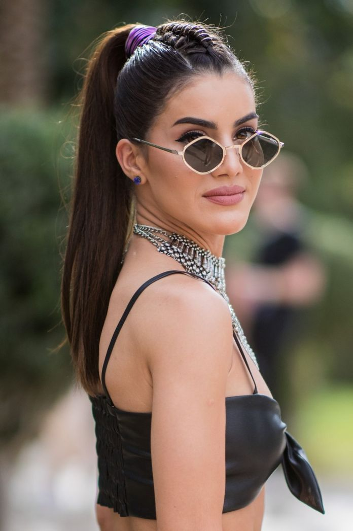 Mid-Riff-Braided-Pony-Hairstyle 25 Festival Hairstyles to Enhance Your Appearance