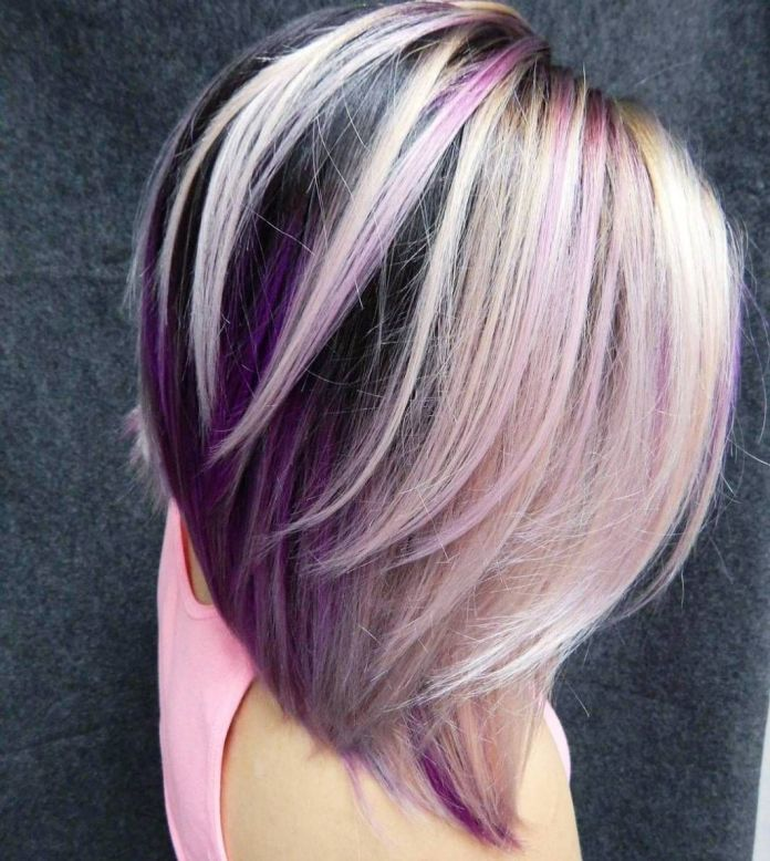Pink-and-Violet-Tones 21 Hair Color Trends 2020 to Glam Up Your Tresses