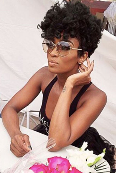 Prom-Hair 33 Short Curly Natural Hairstyles for Black Women