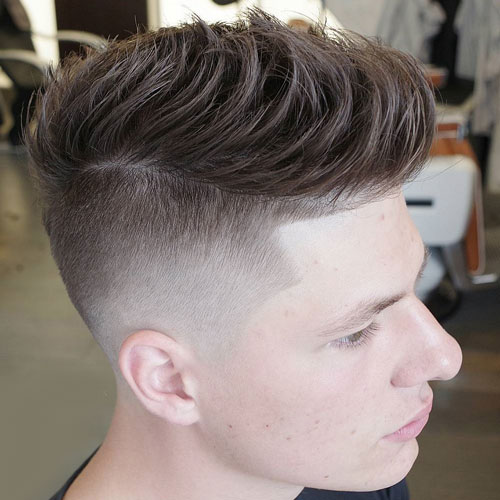 Quiff-with-Disconnected-Undercut 10 Hot-looking Disconnected Undercut Haircuts
