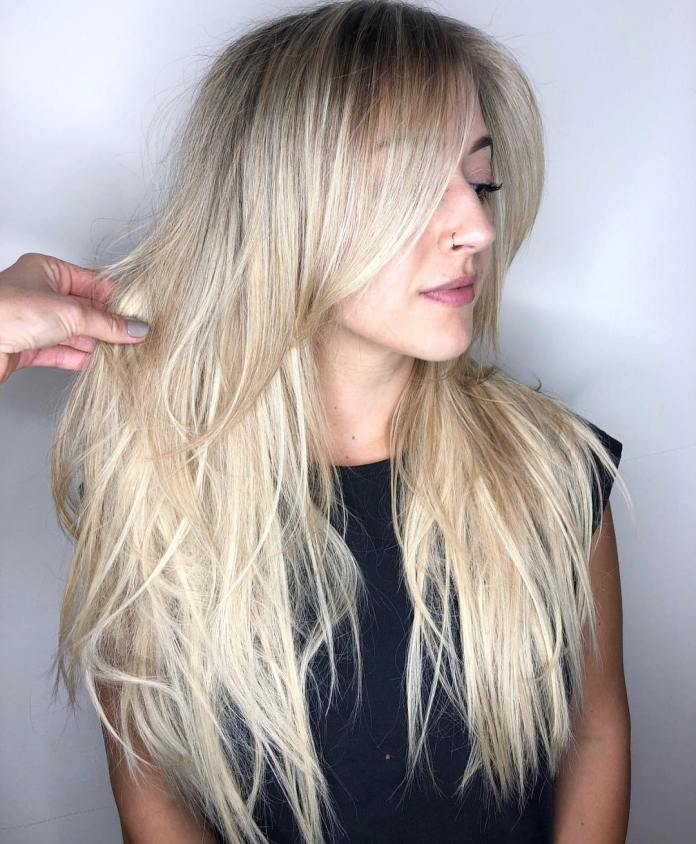 Rooty-blonde 12 Chic Hairstyles For Women With Long Faces