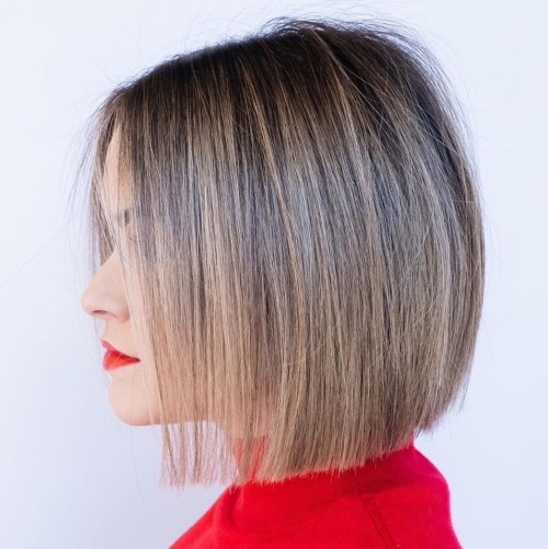Short-Bob-Hairstyle-for-Fine-Hair 15 Fabulous Hairstyles for Fine Hair