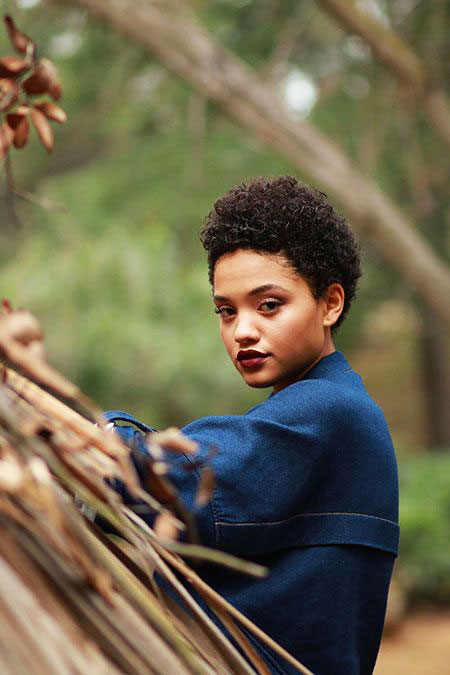 Short-Hair-2020 33 Short Curly Natural Hairstyles for Black Women