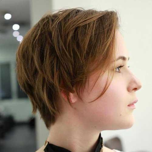 Short-Hair-for-Thin-Hair Best Short Layered Haircuts for Women