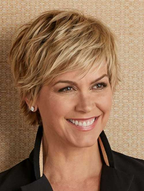 Short-Hairstyle-for-Older-Women 20 Layered Short Haircuts for Women