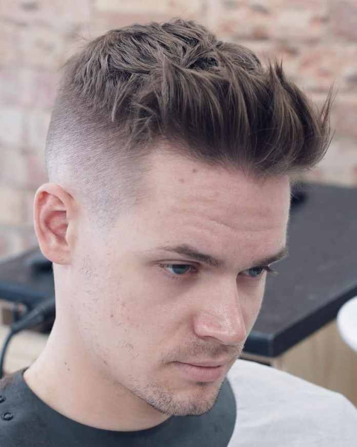 Short-Quiff-with-Sides-and-Back-Faded 25 Quiff Hairstyles for Ultra Modern Look