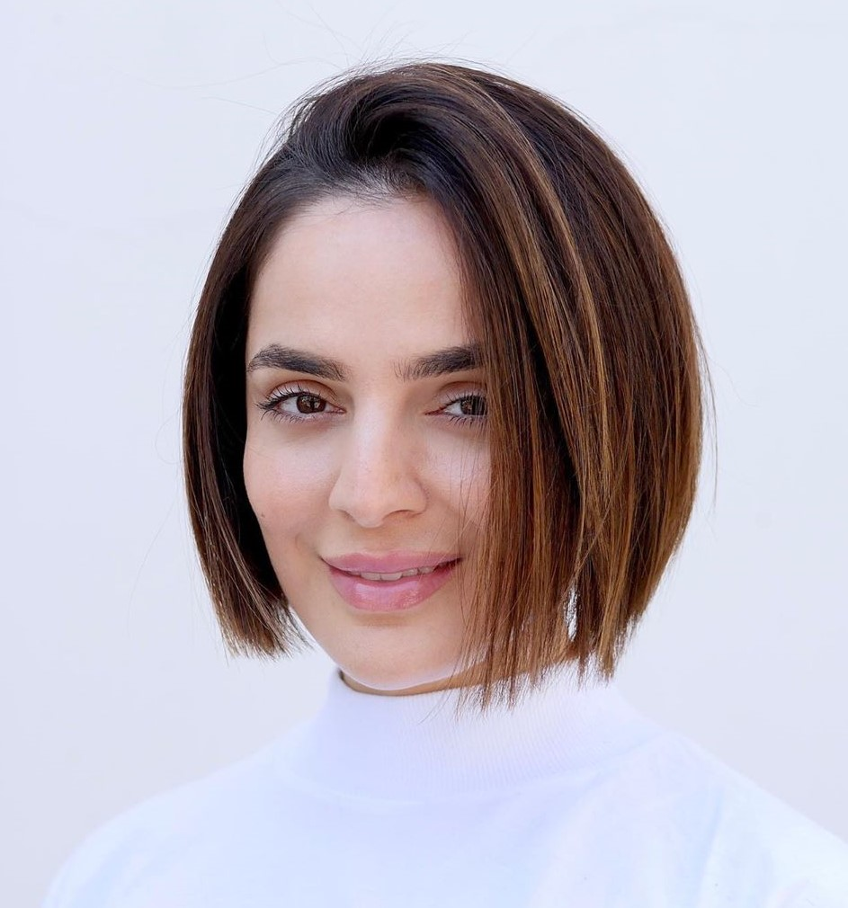 Short-Textured-Bob How to Choose the Best Haircut for Your Face Shape