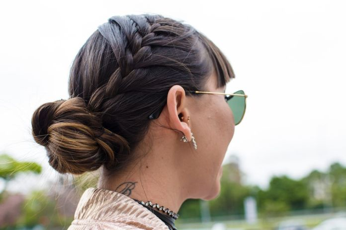 Side-French-Braids-with-Bun 25 Festival Hairstyles to Enhance Your Appearance
