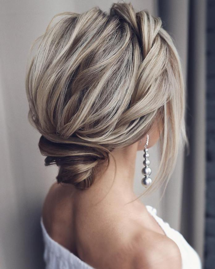 Stylish-chignon 20 Eye-catching Updo Hairstyles To Make Your Day