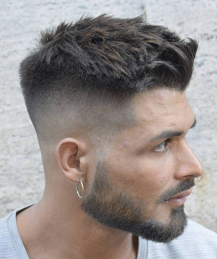 Supper-Short-Quiff-with-Undercut-Sides 25 Quiff Hairstyles for Ultra Modern Look