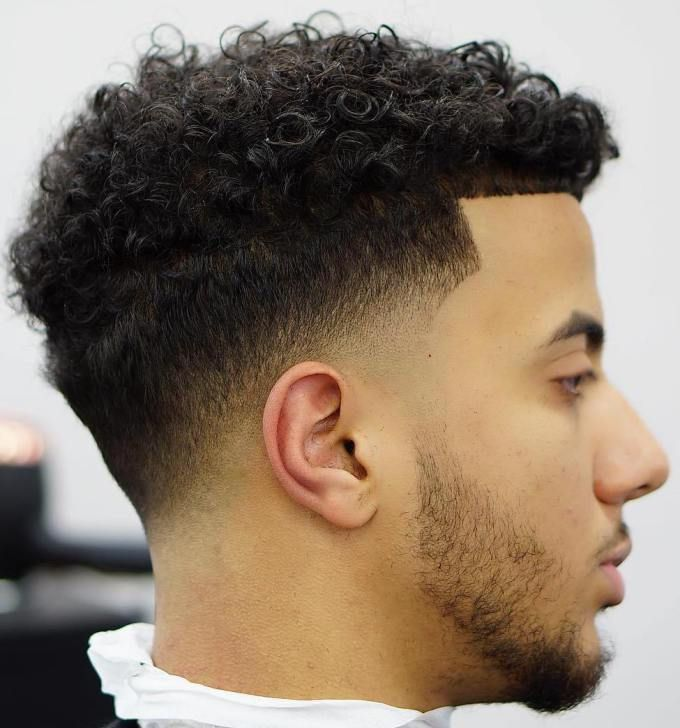 Tame-your-Curls Drop Fade Haircut for an Ultimate Stylish Look