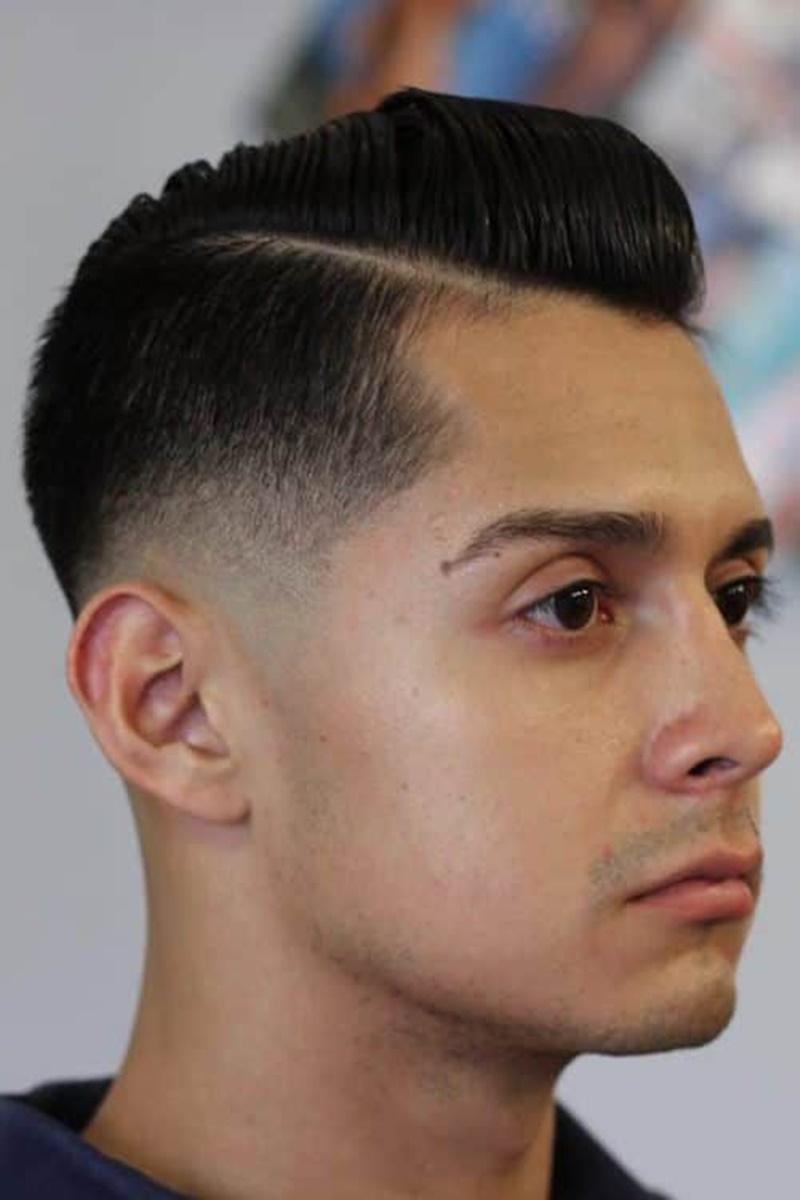 The-Sleek-Backdrop-Fades Drop Fade Haircut for an Ultimate Stylish Look