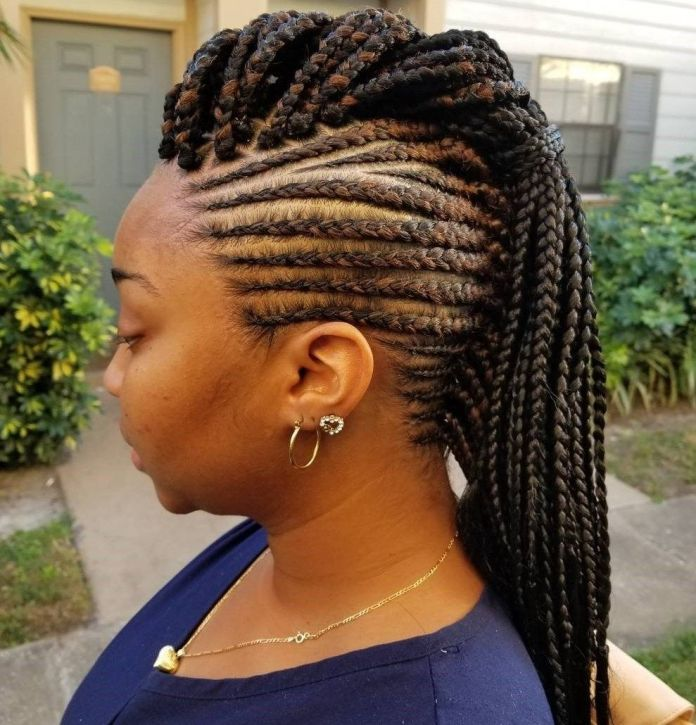 Twisted-Rope-Style-Braid-Updo 25 Black Braided Hairstyles for Voguish Look