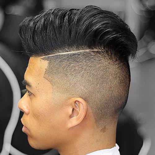 Undercut-Comb-Over 10 Hot-looking Disconnected Undercut Haircuts