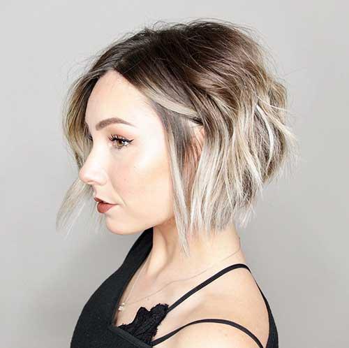 Wavy-Brown-Bob-Haircut New Bob Haircut Ideals For Women 2020