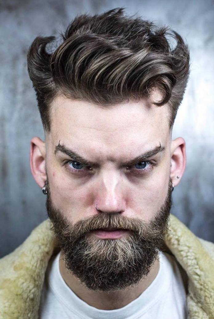 Wavy-Quiff-with-Wings 25 Quiff Hairstyles for Ultra Modern Look