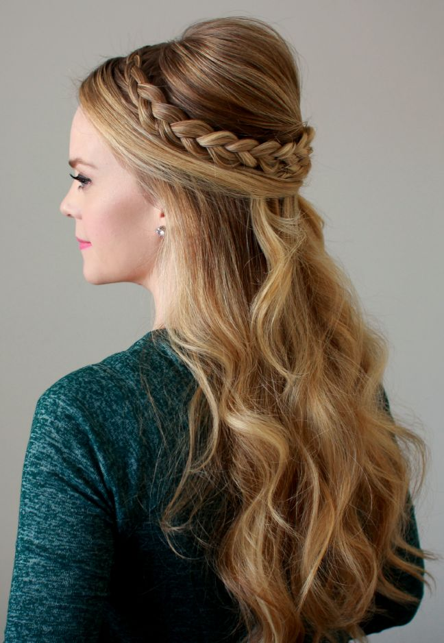 Wedding-Braid-Style 21 Halo Braids to Uplift Your Overall Appearance
