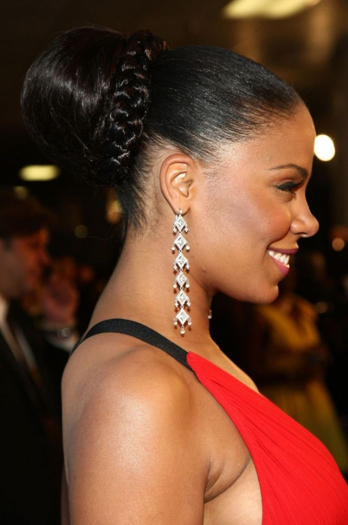 Wedding-Hairstyle-for-Long-Black-Hair 25 Black Braided Hairstyles for Voguish Look