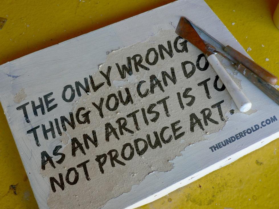 artist-wrong-produce-art