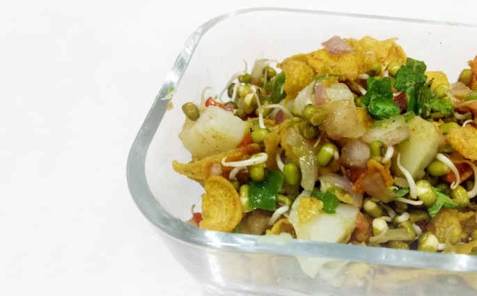 Sprout Cornflakes Chaat- The Understated