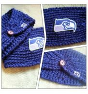 Seahawks Ear Warmers
