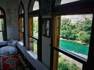 View of the river Neretva from Biscevic house.