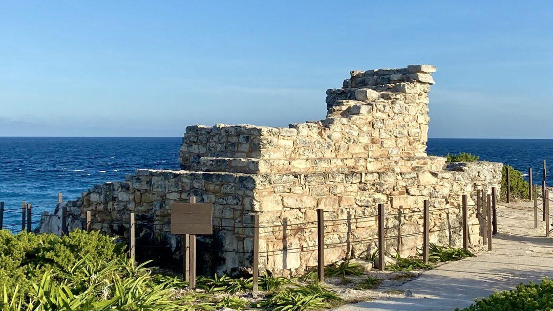 Mayan ruins at Punta Sur, Isla Mujeres Mexico.