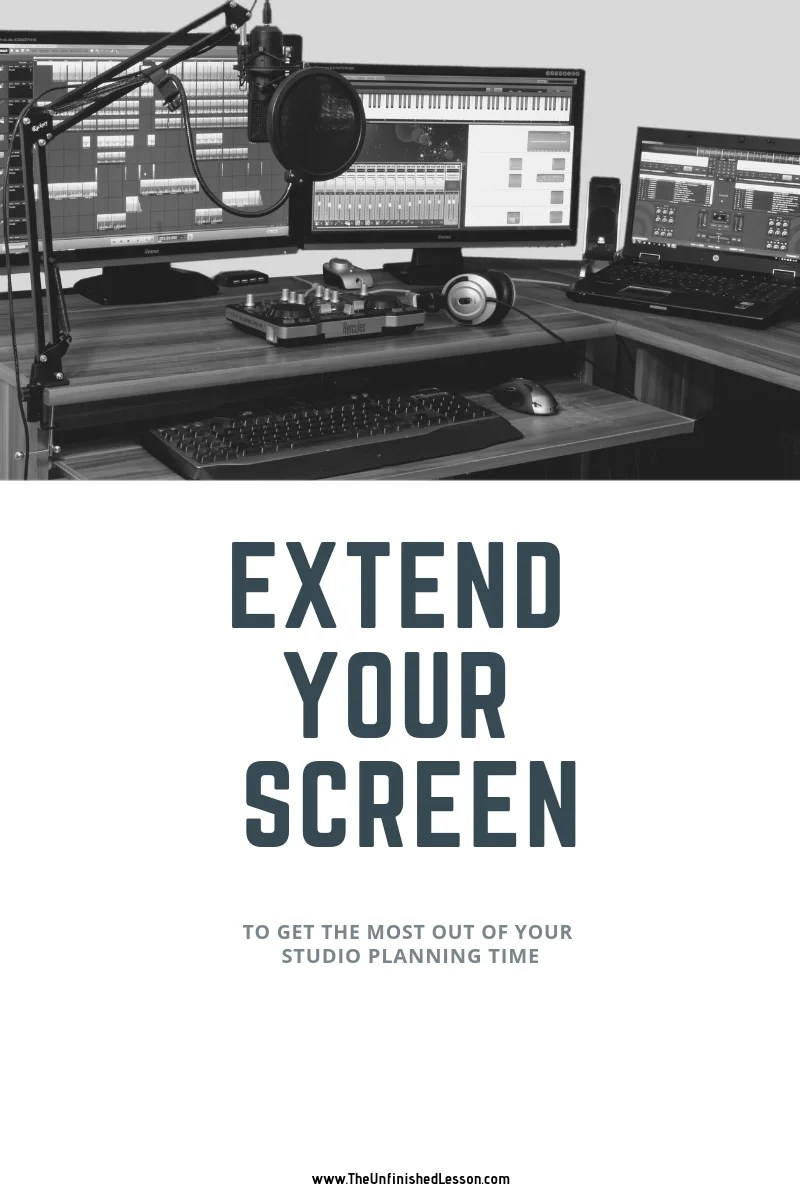 How to extend your computer screen