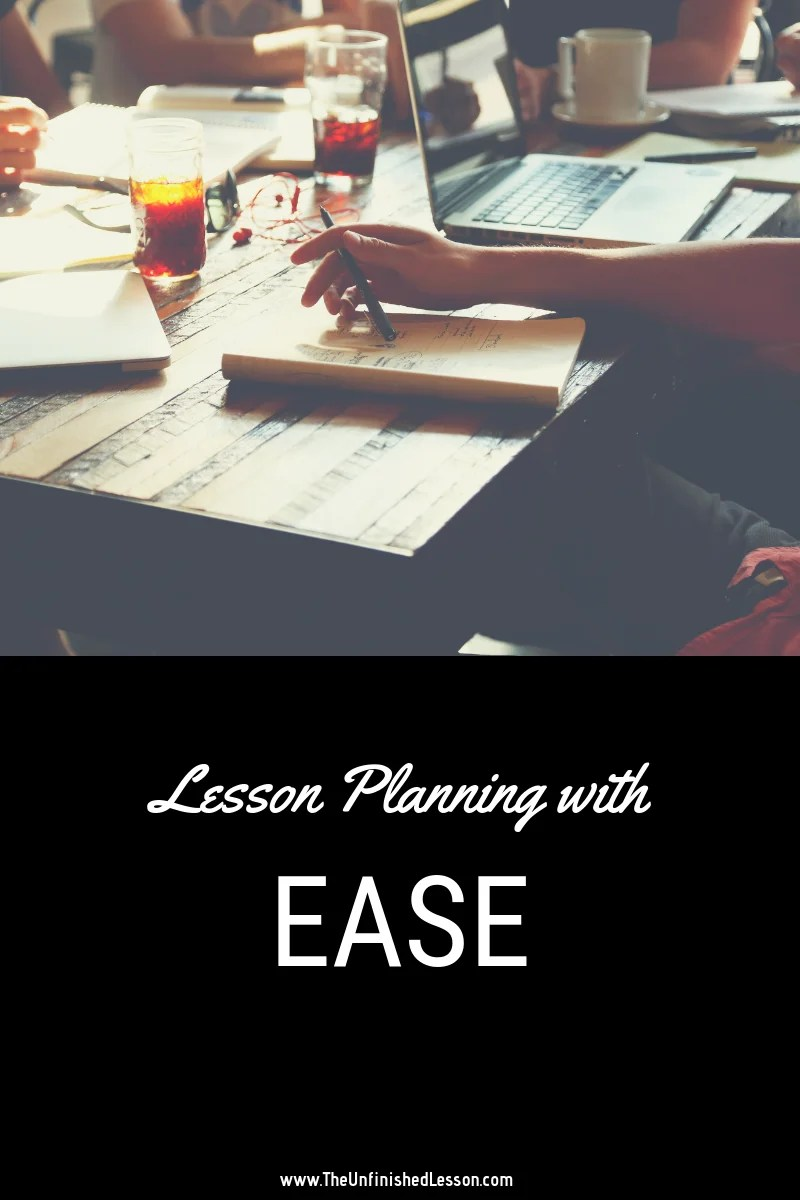 lesson plans for the busy teacher